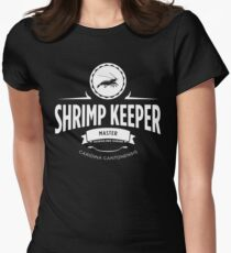 Shrimp Keeper - Master Women's Fitted T-Shirt