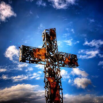 Rusty Cross by boblarsonphoto