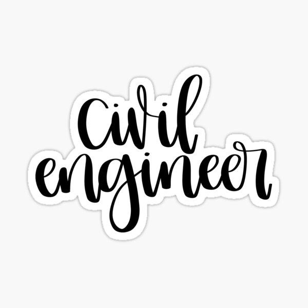 Civil Engineer Sticker