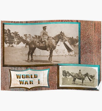 Light Horseman  WW1 Poster