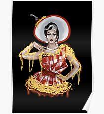 Manila Luzon Spaghetti and Meatballs Poster