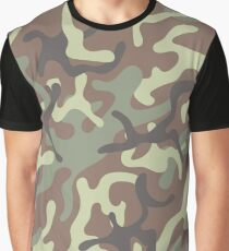 Camuflage Army Pattern #3 Graphic T-Shirt