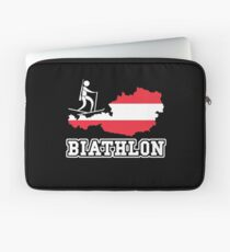 Biathlon Austria Laptop Sleeve