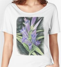 Purple, and Black Visions Women's Relaxed Fit T-Shirt
