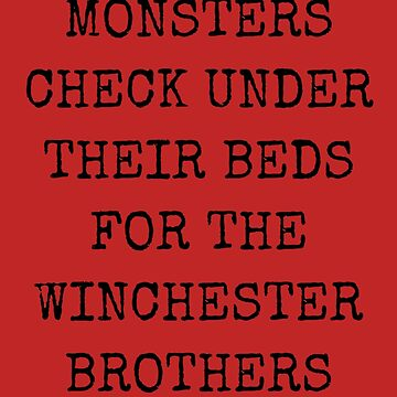 Supernatural Monsters Quote by MysticalCrazy