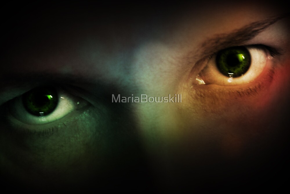 Insomniac Eyes by MariaBowskill