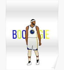 Demarcus Cousins -  BOOGIE  - Golden State Warriors Poster a2bba9bf7