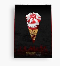 Cornetto Trilogy: Shaun of the Dead Canvas Print