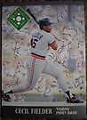 447 - Cecil Fielder by Foob's Baseball Cards