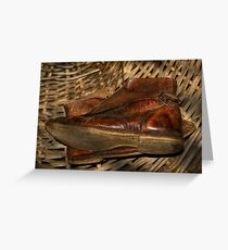 Kate's Cottage ~ The Boots Greeting Card