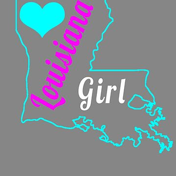 Cute Louisiana Girl for state lover by LGamble12345