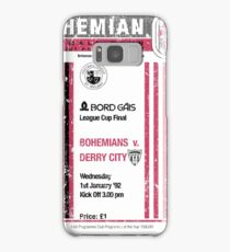 Bohemians vs Derry City Retro Match Programme Samsung Galaxy Case/Skin