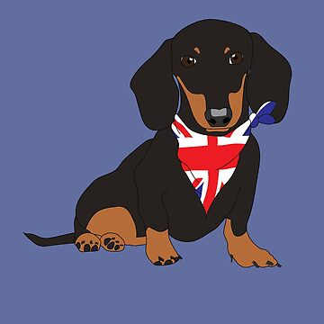 Great British Sausage Dog by leeseylee