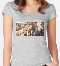 Vorstellung .... Tailliertes Rundhals-Shirt