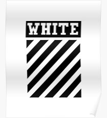 White by Off-White Poster