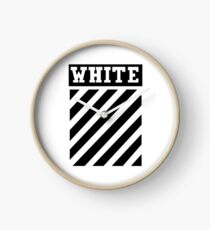 White by Off-White Clock