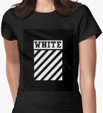 Black by Off-White Women's Fitted T-Shirt