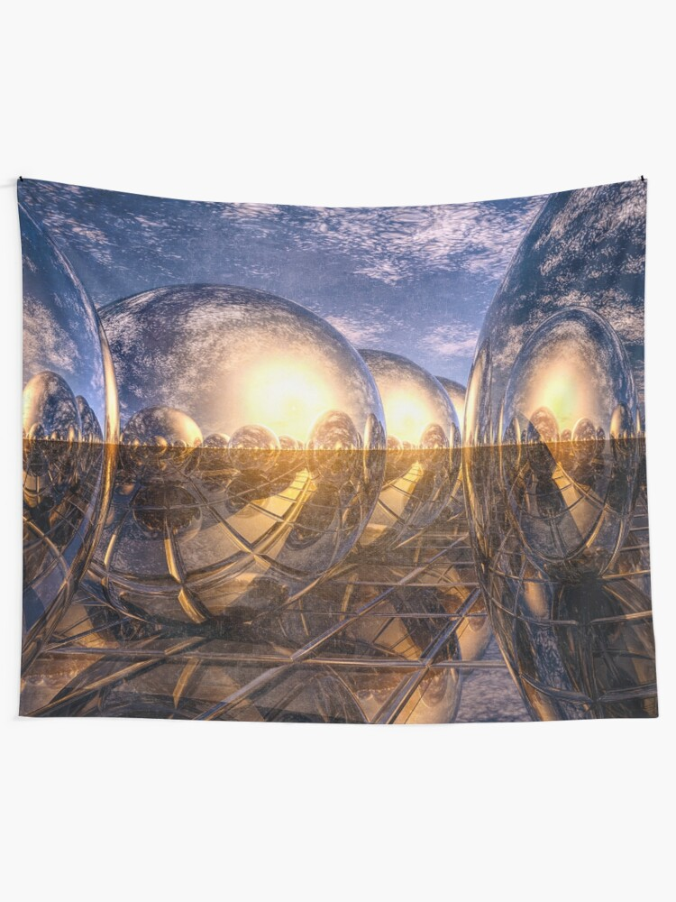 Alternate view of Metallic Reflections of 3D Tapestry
