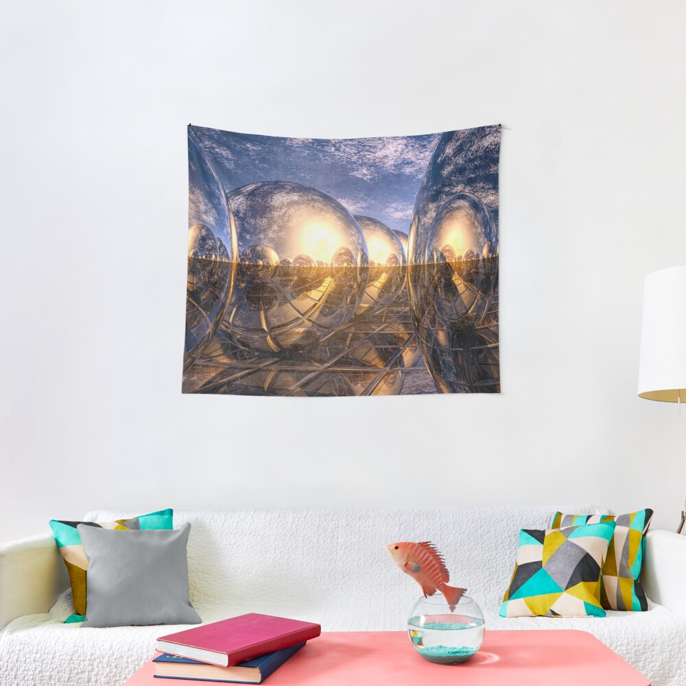 Metallic Reflections of 3D Tapestry