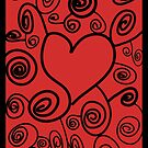 Abstract love art by Logan81
