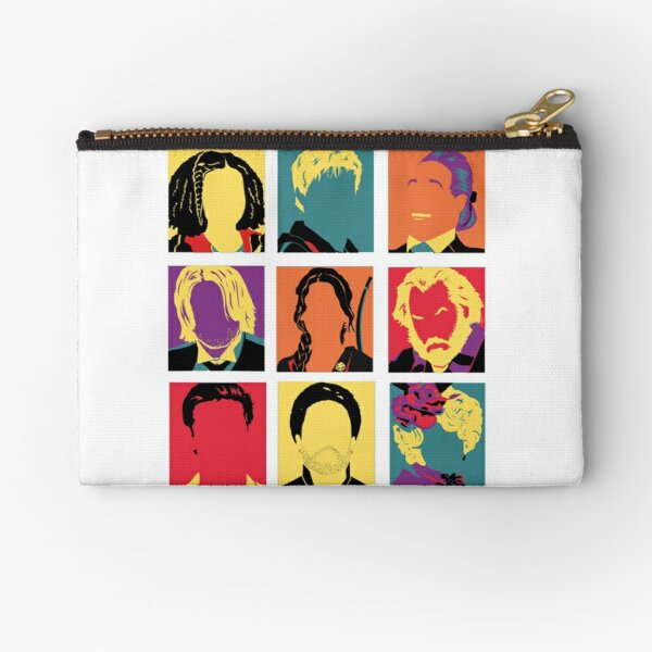 Hunger Games characters Zipper Pouch