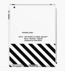 Off-White IPhone Case iPad Case/Skin