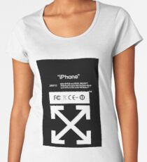 Off-White IPhone Case Women's Premium T-Shirt