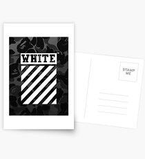 Off-White Bape Camo Postcards