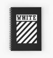 Black by Off-White Spiral Notebook