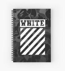 Off-White Bape Camo Spiral Notebook