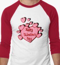 Valentines card Men's Baseball ¾ T-Shirt