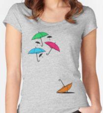Umbrellas Women's Fitted Scoop T-Shirt