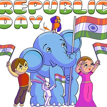 Republic Day of India by Chinumeenu