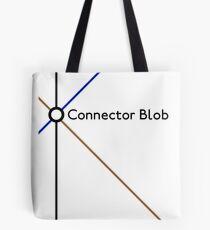Connector Blob Tote Bag