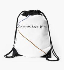 Connector Blob Drawstring Bag
