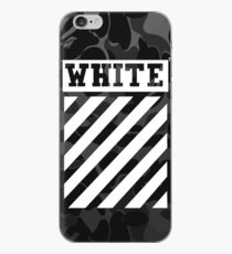 Off-White Bape Camo iPhone Case