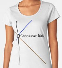 Connector Blob Women's Premium T-Shirt
