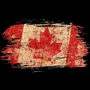 Canada vintage flags design / gift by Rocky2018