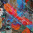 Canvas Abstract Tres by Printpix