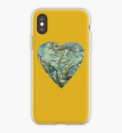 Blossoming Almond Tree Heart iPhone Case