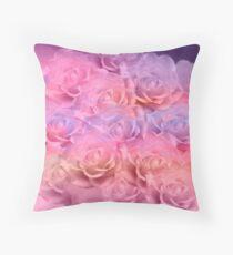 Soft Roses Art Work 2 Floor Pillow