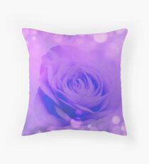 Soft Creative Rose Art Work Throw Pillow