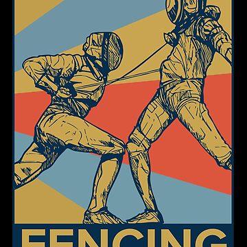 fencing by GeschenkIdee