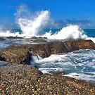 Waves at Tanah Lot by Adri  Padmos