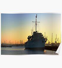 HMAS Castlemaine Poster