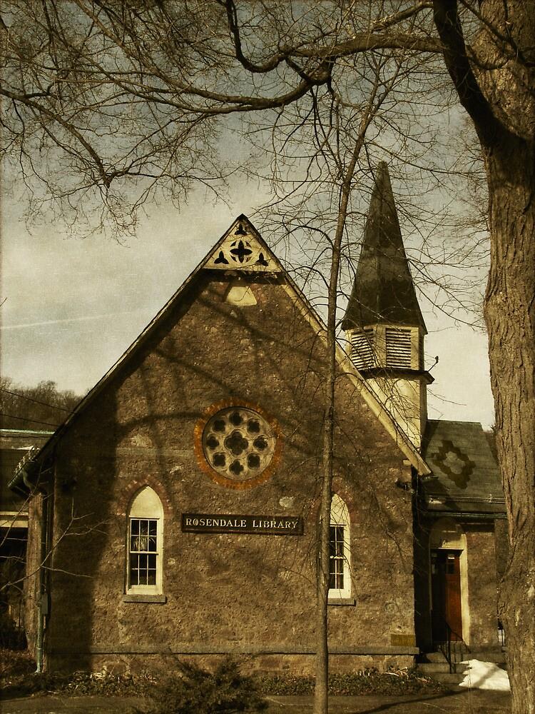 Rosendale Library by Pamela Phelps