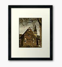 Rosendale Library Framed Print