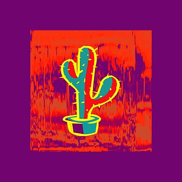 Yellow Cactus by procrest