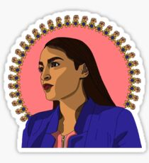 Alexandria Ocasio Cortez  Sticker