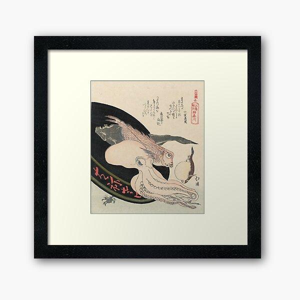 Kanagawa, Totoya Hokkei, c. 1890 Framed Art Print